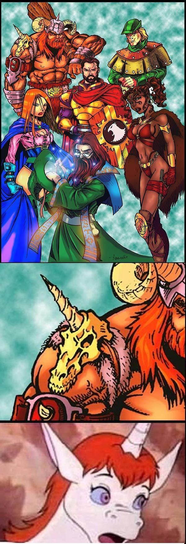 Caverna do Dragão - Futuro da Uni - seu crânio infeiti de Bob